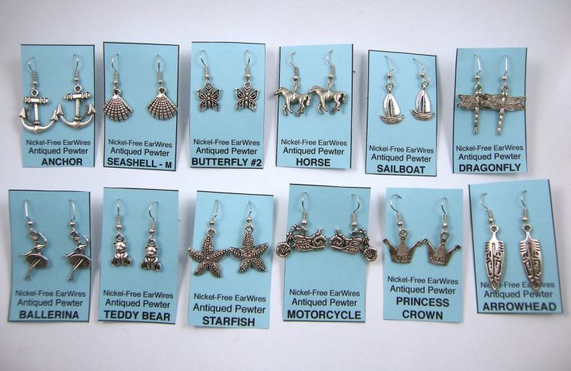 earring-examples-antiqued-pewter